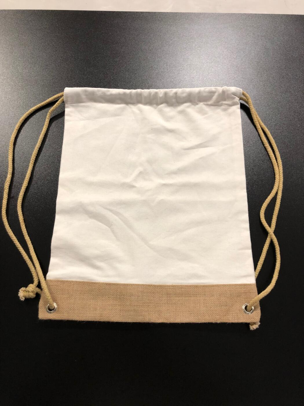jute and cotton shopping bag PMG
